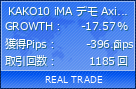 KAKO10 iMA デモ Axiory新鯖|fx-on.com