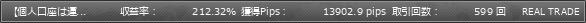 オセアニアブラザーズ・複利係数12・レバ500倍・利確pips内側20・利確pips外側20 | GogoJungle